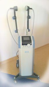 urządzenie do diatermii w Dziale Rehabilitacji Medycznej w pokoju koloru białego