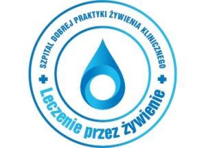 logo koloru niebieskiego z niebieskim nadrukaiem na białym tle